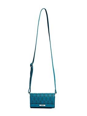 e583576286 Dámská crossbody kabelka Guess Zahara - modrá